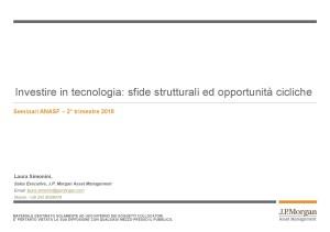 Presentazione JPMorgan 10mag18