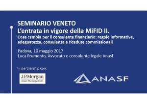 Avv. Frumento - Anasf 10 maggio 2017