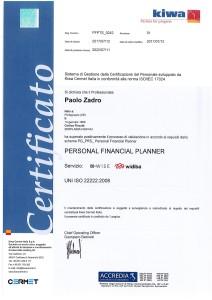 Diploma ISO zadro