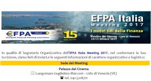 EFPA Italia 12-13 ottobre 2017 Venezia